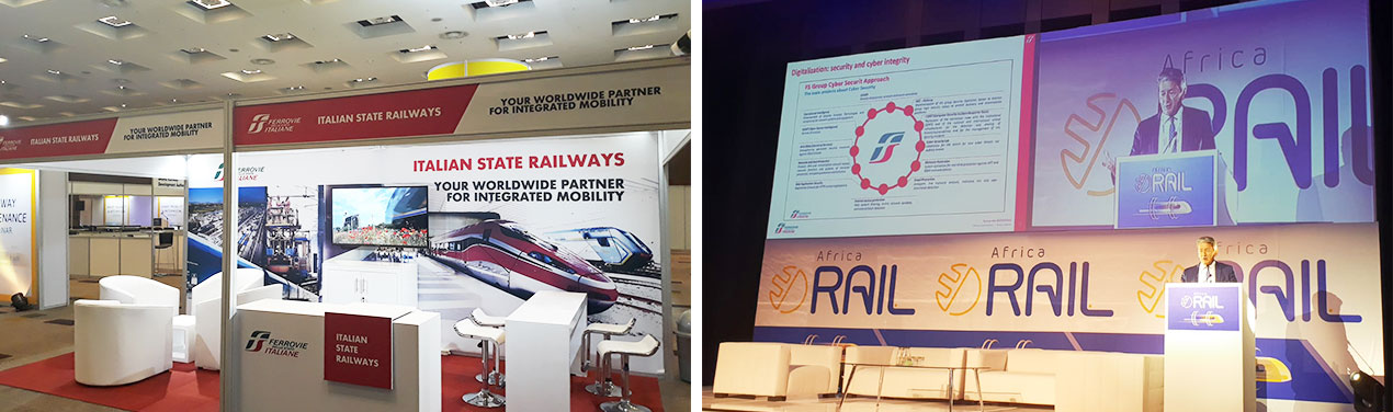 Photo: FS International to the Africa Rail Congress